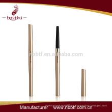 AX75-6,2015empty tubo de aluminio del lápiz de la ceja de la prueba del agua