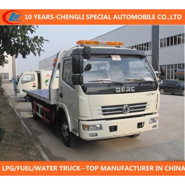 Caminhão do Wrecker de Dongfeng Wrecker 120HP Caminhão de Wronger do Wronger Dongfeng 4X2