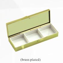 Caja de almacenamiento de joyas cosméticos de metal (BOX-34)