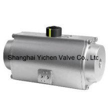Пневматический привод из нержавеющей стали с пружинным возвратом (YCSAT)
