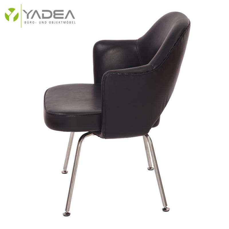 Leather Saarinen Executive Armchair