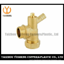 Brass Copper Fittings with Two Nuts (YS3116)