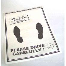 Anti Slip Car Floor Mats Paper