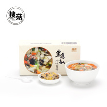 Vegetable mushroom instant freeze dried soup