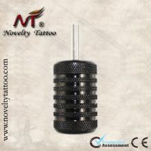 N301002-30mm Aluminum Grips Black Tattoo