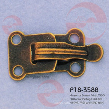 Vintage Fashion Iron Brass Metal Garment Accessory