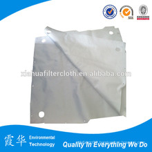 Polypropylene, water and oil repellent press cloth filter