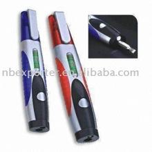 BTEL1347 Mini kit de herramientas con luz de nivel y LED