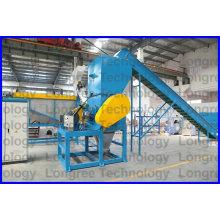 Máquina de reciclaje de película de residuos PE / PP, trituración y lavadora