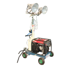 generador de luz portátil de torre de bomberos