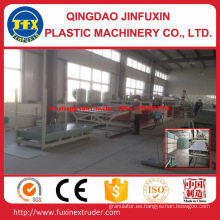 Línea de placa de espuma de corteza de construcción de PVC
