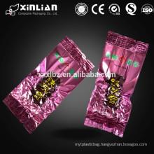 factory price aluminium foil tea bag for tea packaging