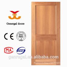House wood Interior hdf 2 flat panel door