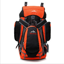 Schwarze Casual Mode Camping Taschen Rucksack