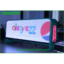 China Supplier P5 Outdoor Advertising Taxi Top LED Display