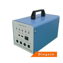 12V Solar Generator LED Phone USB Charger