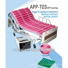 dynamic medical alternating mattress overlay system for decubitus APP-T03