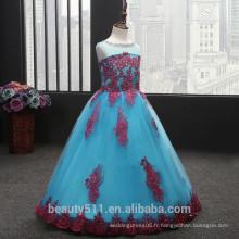 Robe de mariée pour enfants, robe de soirée exclusive et respirante ED589