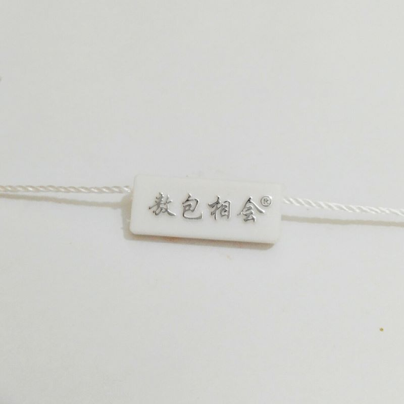 Clothing Accessories price tags with strings