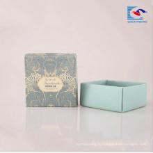 Изготовленный на заказ напечатанная логосом коробка картонная роскошные упаковки крафт бумага рециркулированная для мыла