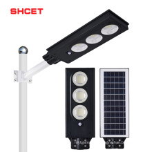ABS High Power Ip65 Waterproof 150W Integrated All In One Solar Led Street Light