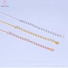 Fabrik-Preis reine 925 Sterling Silber Kette Halskette Schmuck