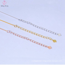 Factory Price Pure 925 Sterling Silver Chain Necklace Jewelry