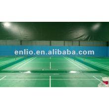revêtement de sol sport en vinyle pour terrains de badminton