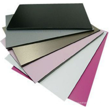 Prix concurrentiel intérieur / extérieur conception revêtement ignifuge de haute qualité en aluminium composite panneau fabricant