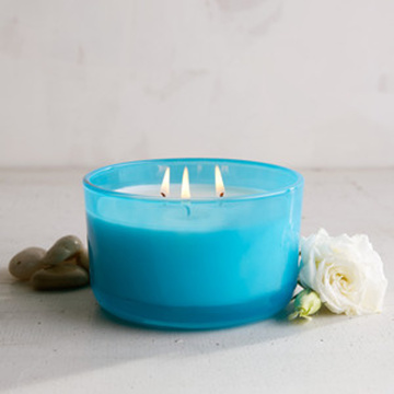Naturlig Soy Wax Aromaterapi 3 Wick Scented Candle