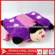 Caliente en niños nuevo diseño relleno abeja peluche proyección juguete