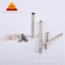 Eletrodos de solda de liga de tungstênio de prata de alta precisão