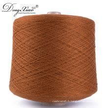 Fil de cachemire pakistan pas cher en gros 100% tricoter des fils moussants pour pull à tricoter à la main