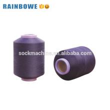 Prix de fil couvert par spandex simple d'air de polyester de haute qualité