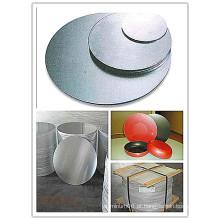 Círculo de alumínio / alumínio para sinais com boa planicidade (A1050 1060 1100 3003)