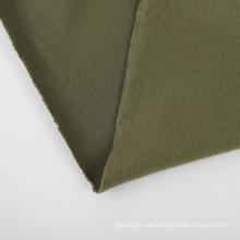 Tejido de felpa de felpa de tres hilos 100% algodón cepillado