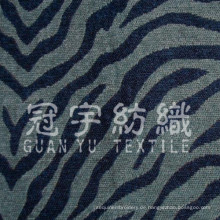 Home Textile Sofa Chenille Stoff als Tierlinien