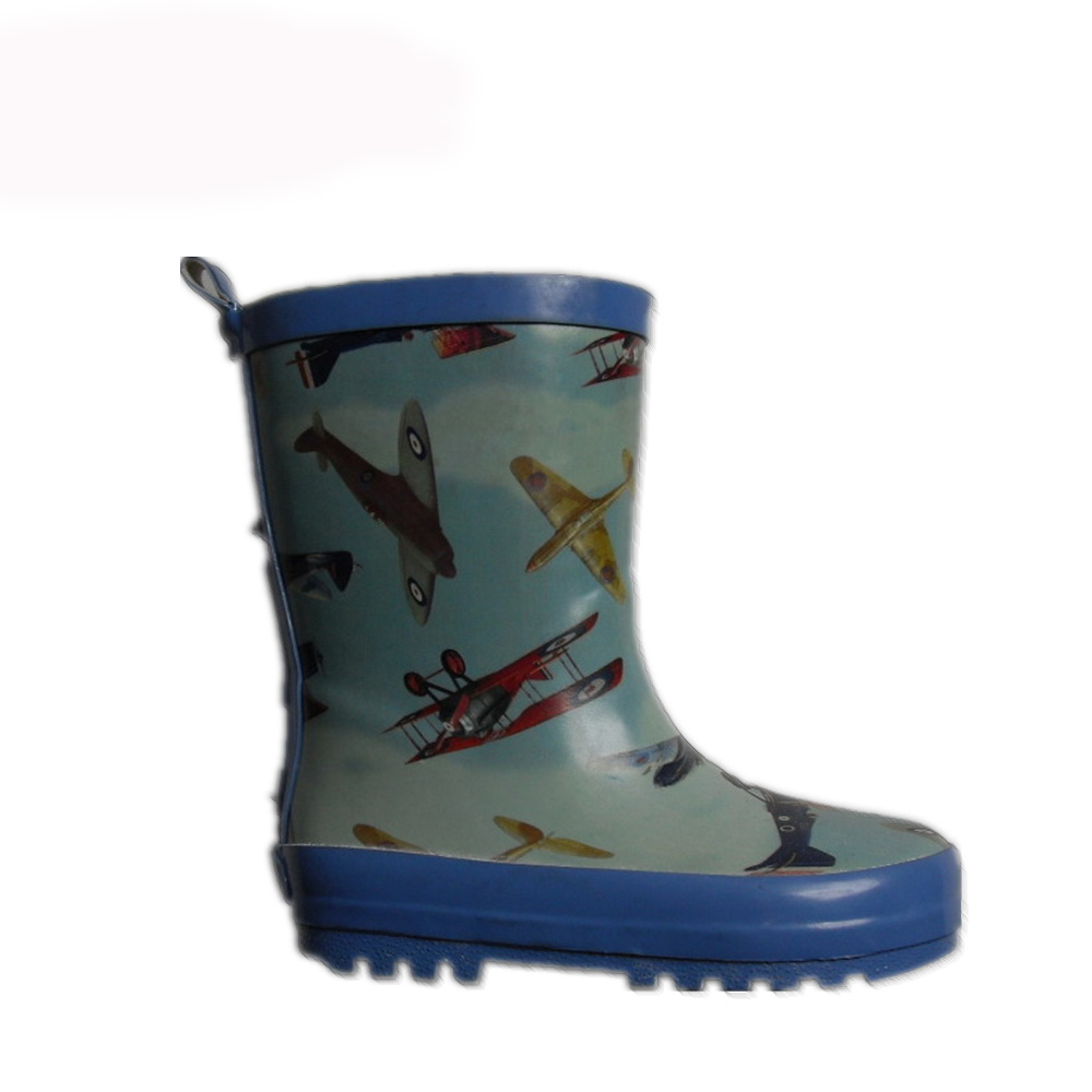 kids rubber boot