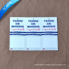 Custom Paper Hang Tag Clothing Tag for Clothing