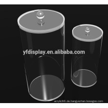 Runde Acryl Transparent Box