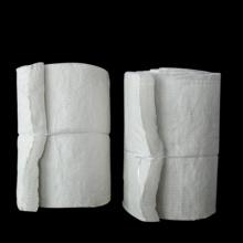 Manta de fibra de silicato de aluminio de material refractario