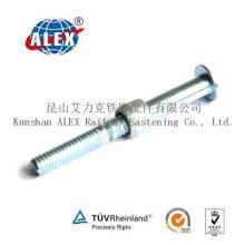 High Quanlity Carbon Steel Huck Schraube mit Kragen