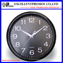 12inch Logo Impression ronde en plastique Wall Clock (EP-Item12)