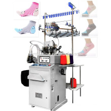 3.75 plain computerized selective terry sock machine sock knitting machine