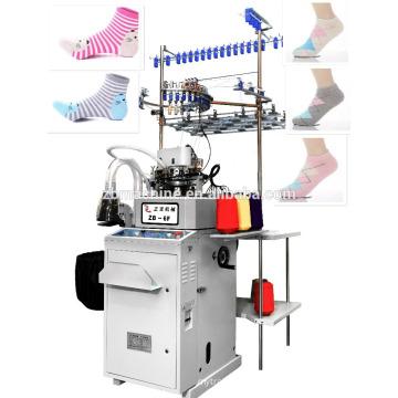 3,75 einfache computerisierte selektive Frottee Socke Maschine Strickmaschine