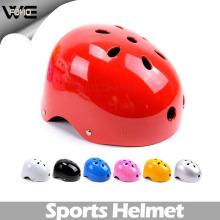 Casque promotionnel de dames de bicyclette rouge de scooter de sécurité de sécurité