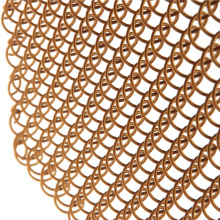 Popular flexible metal mesh decorative wire mesh curtain