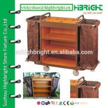 double sided air service food trolley