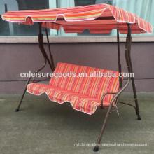 Classic cheap balcony swing chair steel