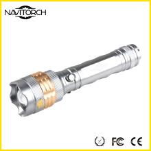 Aluminium Rechargeable 5W CREE LED Flashlight (NK-676)